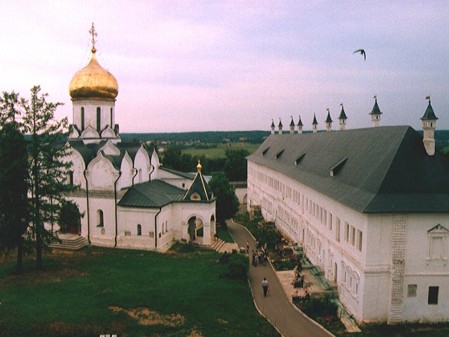 Звенигород. саввино-сторожевский